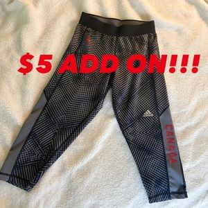$5 ADD ON!!! Adidas capri leggings